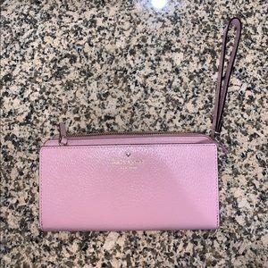 Kate Spade Pink Wallet Wristlet